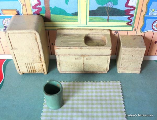 21 Best Images About Vintage 1940s Dollhouses On