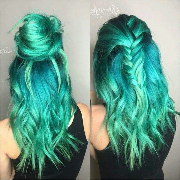 25 best ideas about Teal hair  color  on Pinterest