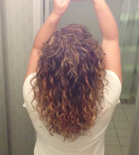 Pintura Highlights By My Awesome Deva Curl Stylist Curl