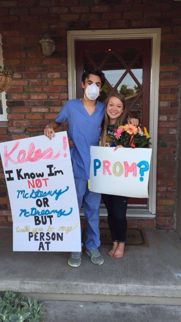 Grey's Anatomy Promposal | Prom | Pinterest | Grey ...