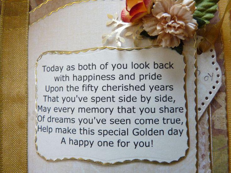 25+ Best Ideas About Golden Anniversary Gifts On Pinterest