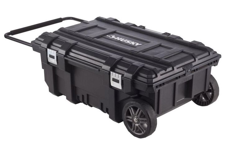 Details About Husky Mobile Rolling Portable Tool Storage