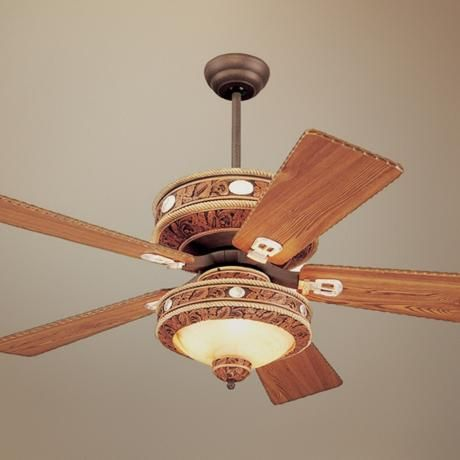 52 Monte Carlo Durango Western Ceiling Fan 91099 91123 Our Home Fixtures