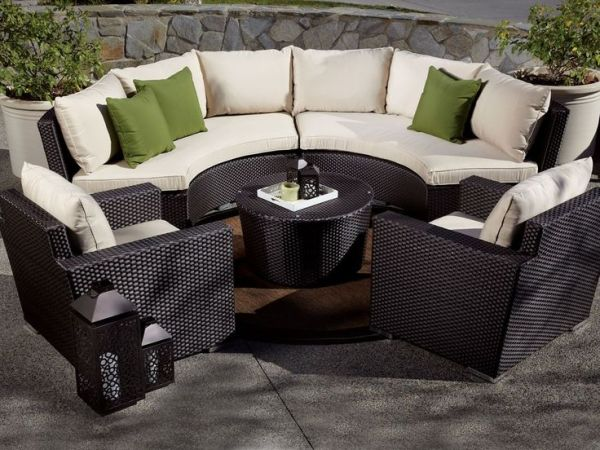 curved outdoor sectional patio furniture 20 best images about Patio Furniture Ideas on Pinterest