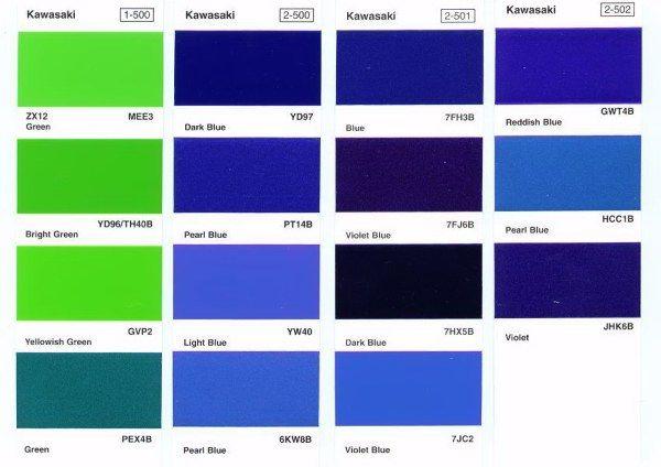 Auto Paint Codes Auto Paint Colors Codes Pinterest