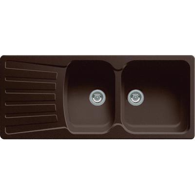 BLANCO Silgranit Natural Granite 2 Bowl Topmount Drainboard Sink Caf About 723 At Home