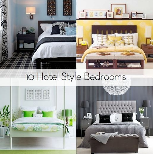 Inspiration 10 Hotel Style Bedrooms