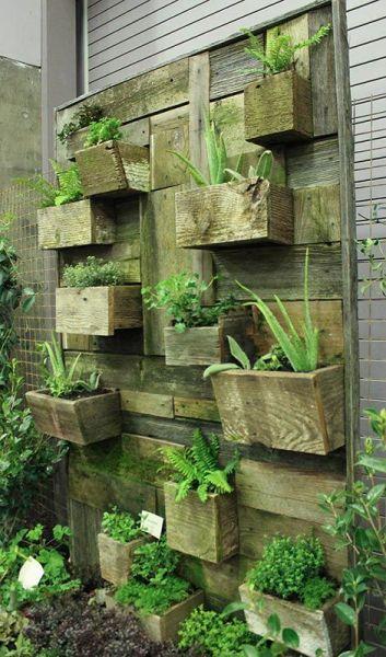 pallet planter vertical garden 58 best images about Pallet Planters on Pinterest