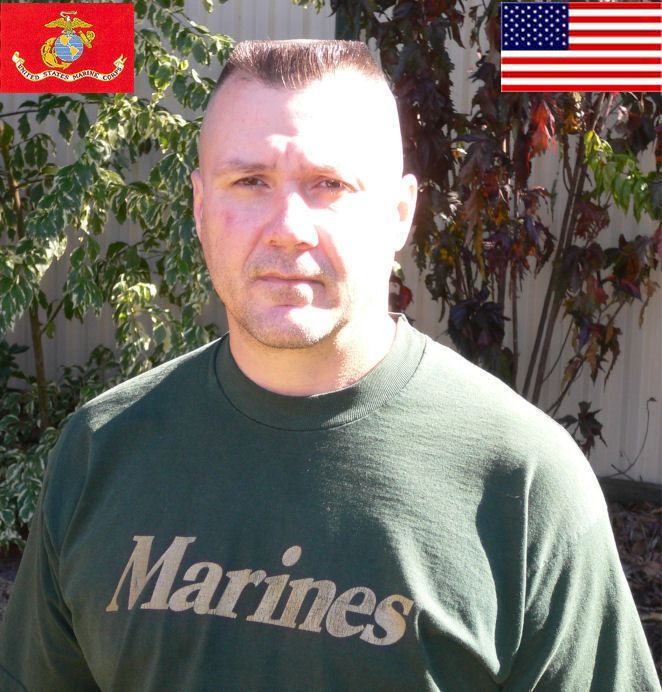 Marine Corp High And Tight Flattop With Landing Strip