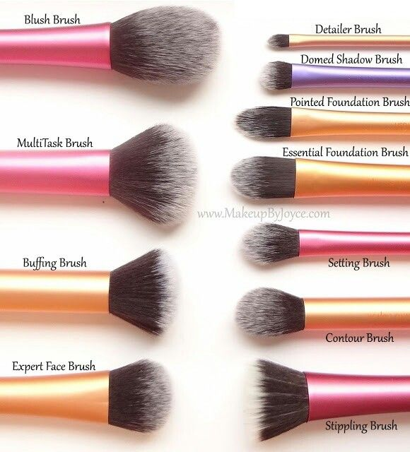 Real techniques brushes- walmart or London drugs.