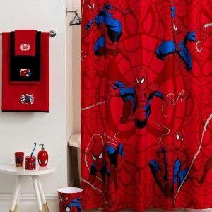 Cool Spiderman Bathroom Accessories For Boys Kids Bathroom Pinterest Kid Spiderman And Boys