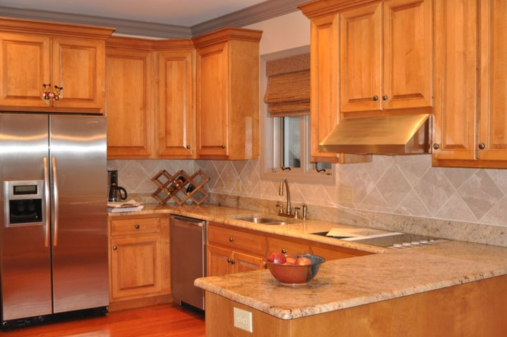 Granite Colors For Maple Cabinets | There are five ... on Best Granite Color For Maple Cabinets  id=88456