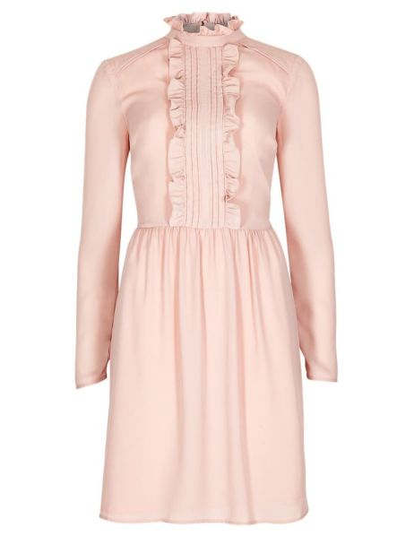Long Sleeve Babydoll Frill Dress £45 from Marks and Spencer