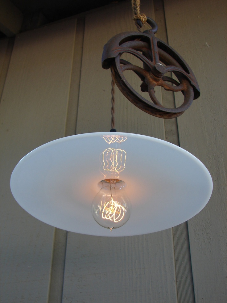 Very Cool Upcycled Light Fixture For The Home
