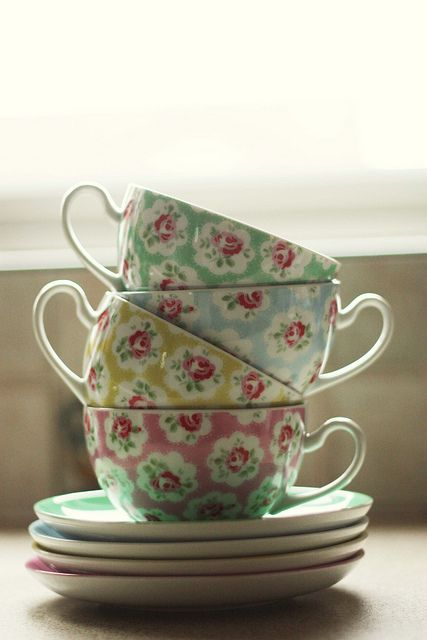 Cath Kidston teacups…I kinda want these!