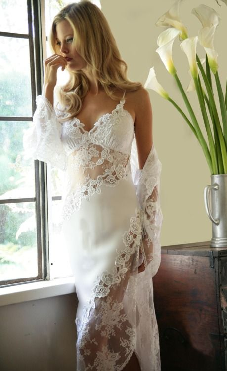 We just got in the Jonquil ,Casablanca Bridal Collection / Bridal Nightgown / Lingerie we have RHIS piece in both long and short