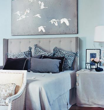 1000 Ideas About Slate Blue Bedrooms On Pinterest Blue