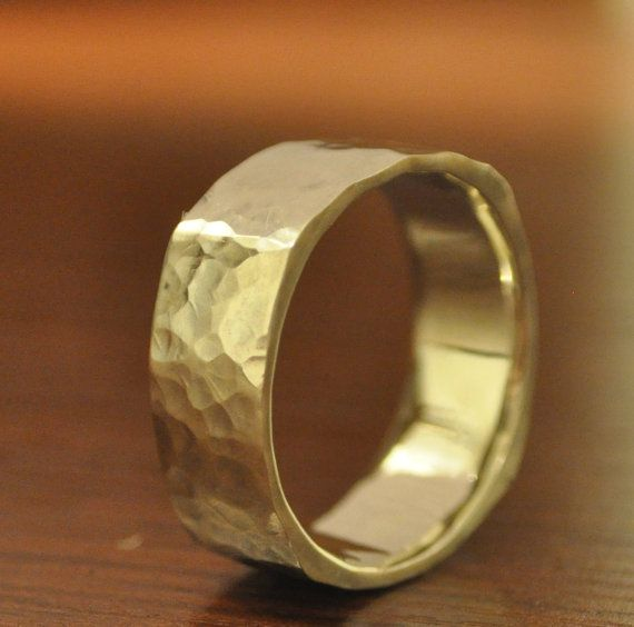 Unique Circle Within A Square Wedding Band Solid 14 Kt