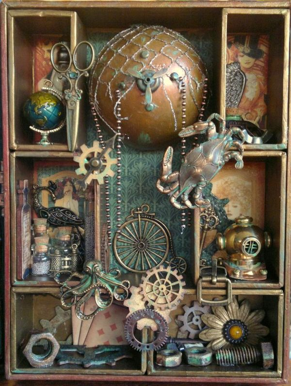 379 best images about Assemblage Box Art on Pinterest ...