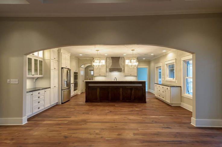 Kitchen Cabinets Perimeter Is HomeCrest Sedona Maple