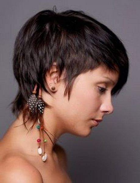 17 Best Ideas About Short Shaggy Haircuts On Pinterest