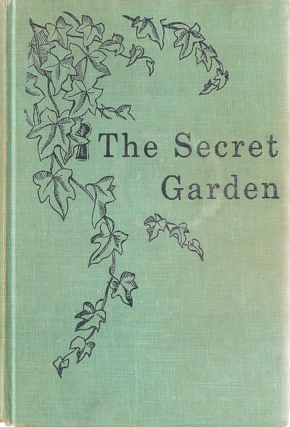 The secret garden- cant wait to read this book to the kids!