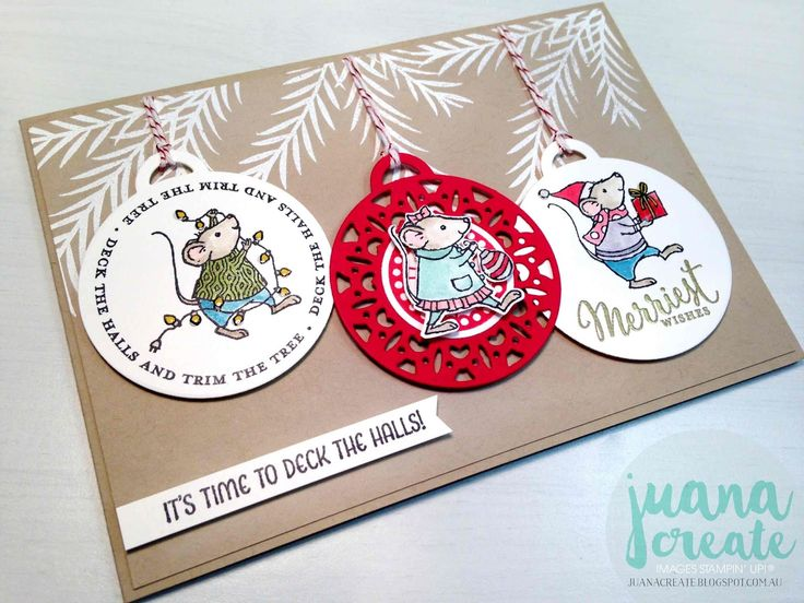 4254 Best Images About Stampin Up Christmas Ideas On Pinterest