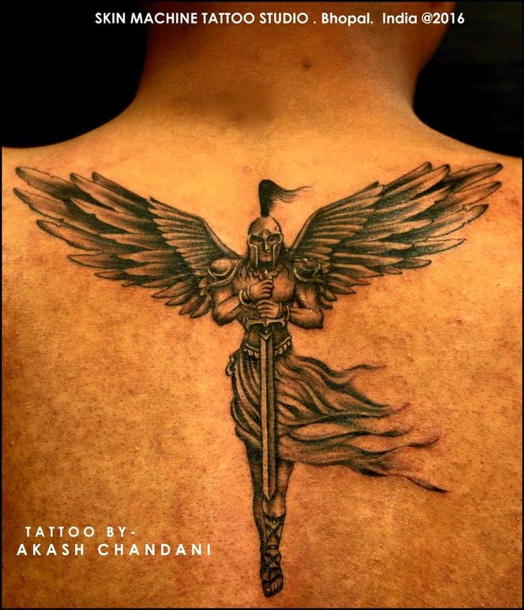 Guy 3d Tattoo Wings