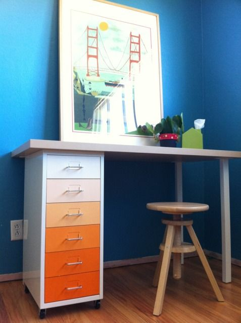 Ikea Hack Cute DIY Desk Idea For The Homeschool Room I
