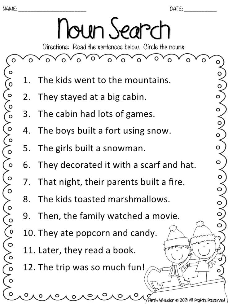 1st Grade Art Worksheets