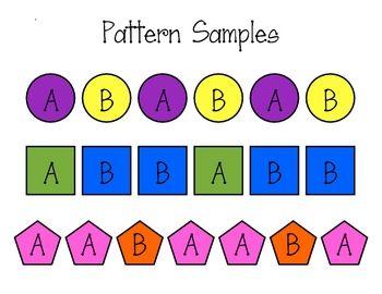 Images About Patterning Kindergarten