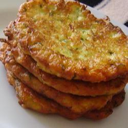 Zucchini Pancakes: I made t