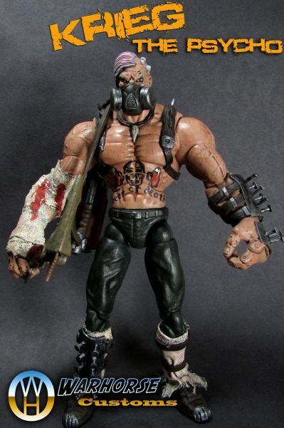 Krieg The Psycho Custom Action Figure Custom Action