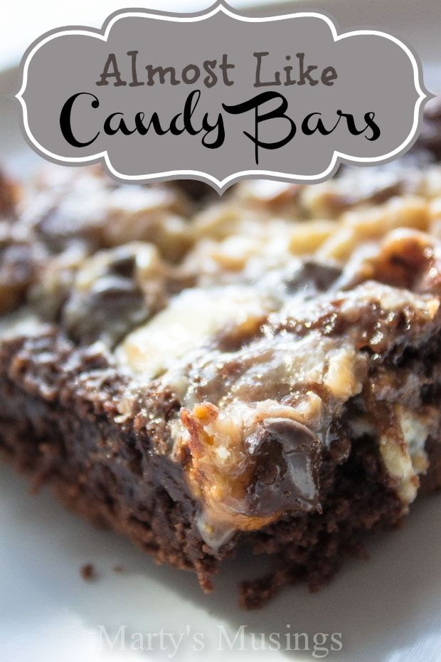 Almost Like Candy Bars #candy #yummy #martysmusings.com
