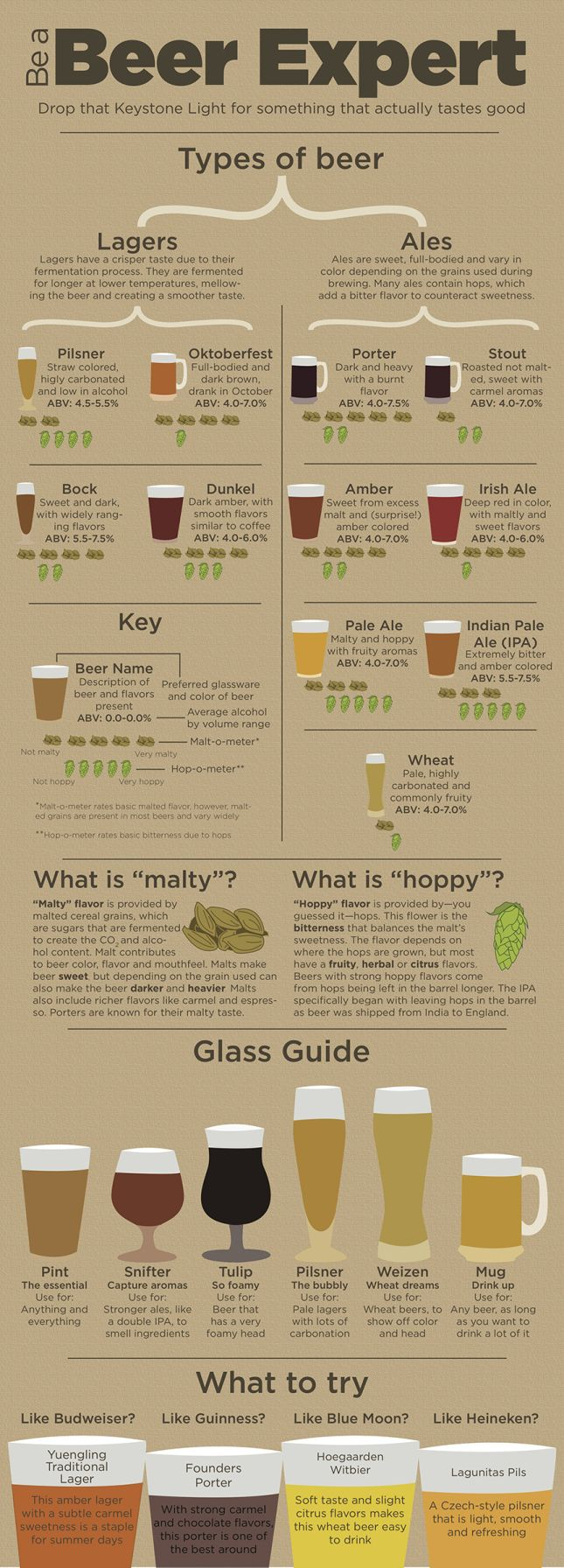 Beer Guide. I don't really like the beer I've had before, maybe this will help me find one I like?