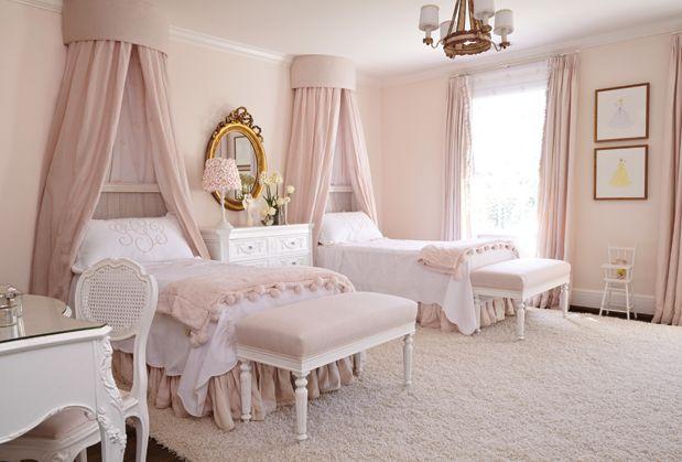 House Beautiful: Pale Pink Pretty February 12, 2016 ... on Beautiful Girls Room  id=89429