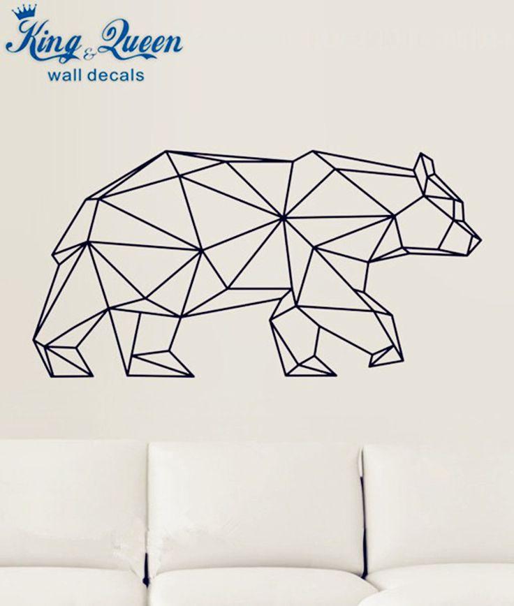 25 Beste Ideen Over Geometrische Muur Op Pinterest