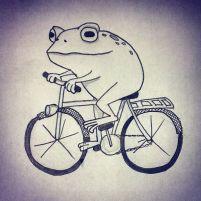 fietspad pad op de fiets