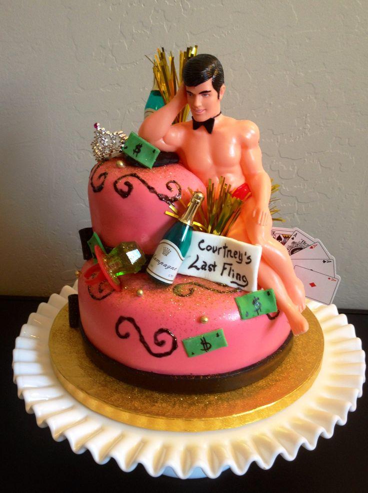 Bachelorette Party Cake Cakes By Denise Pinterest