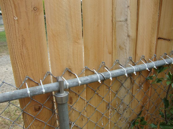 Chain link fence chain links and fence on pinterest
