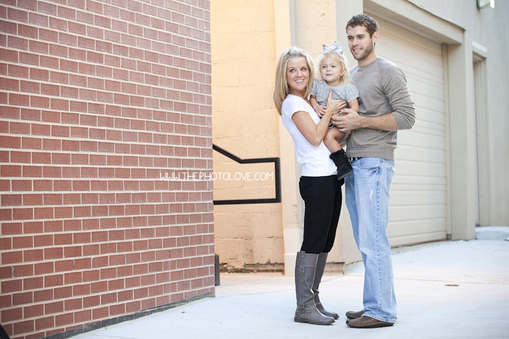 A Standing Family Pose By Brick Wall Wwwthephotolovecom