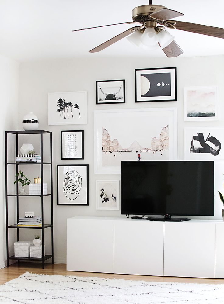 How to Hang a Gallery Wall – Homey Oh My!