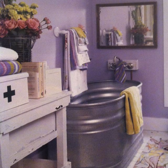 Watering Trough Bathtub Decorating Pinterest We I