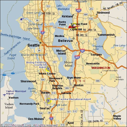 maps of seattle - Google Search   Wonders of The World ...