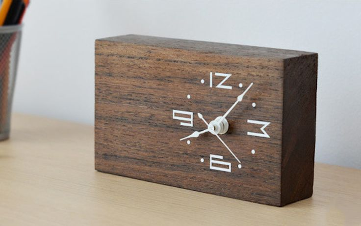 17 Best Ideas About Wood Clocks On Pinterest