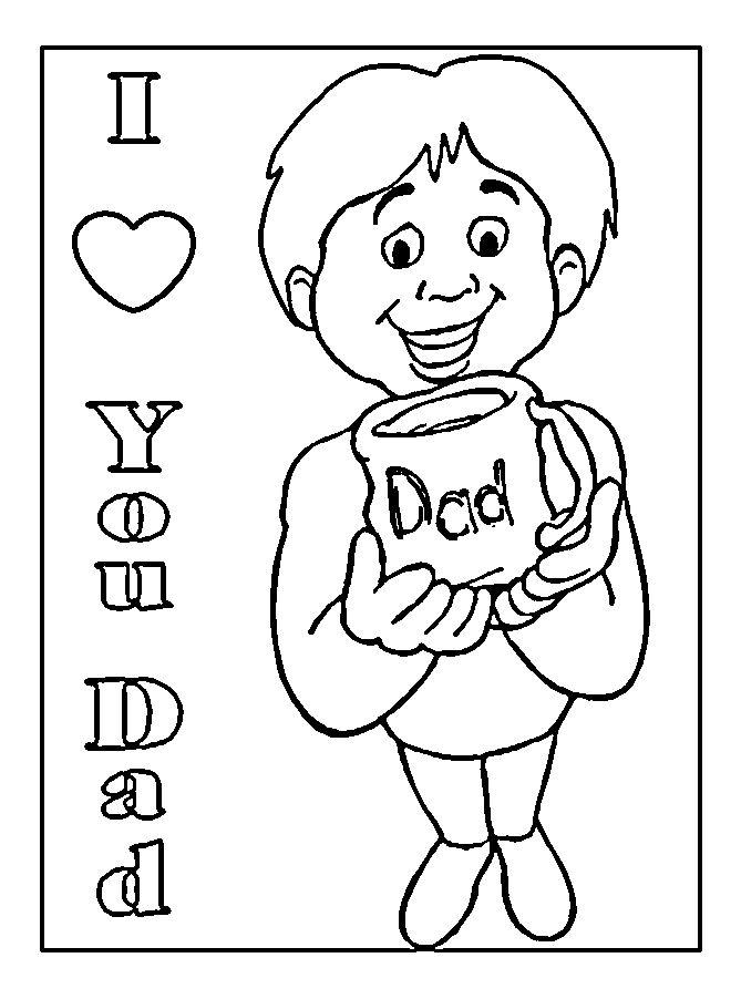 printable coloring birthday cards happy birthday dad coloring cards page 162 printable