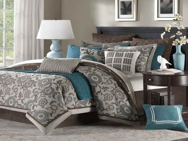 Top 25 Ideas About Grey Brown Bedrooms On Pinterest
