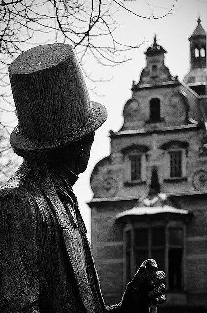 Hans Christian Andersen Copenhagen Denmark. Made sure I saw The Little Mermaid b