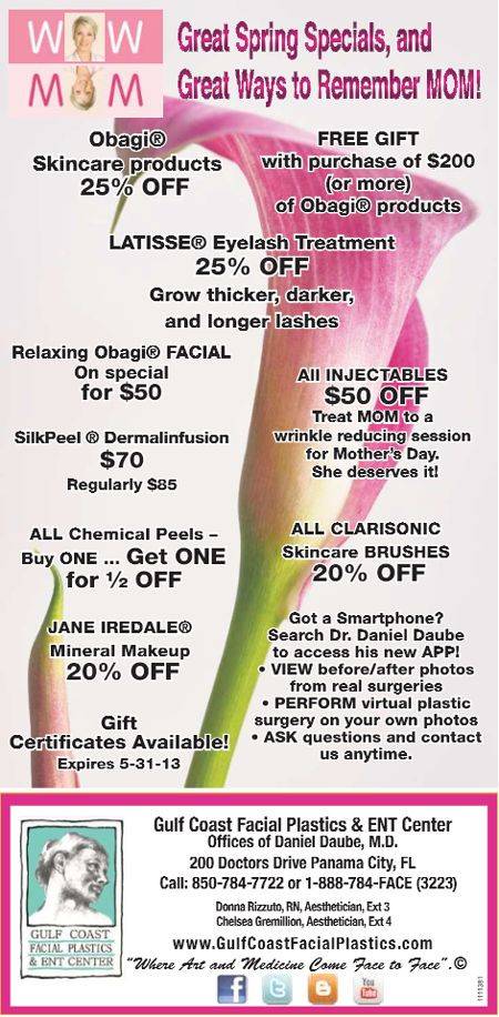 Mothers Day Special Medical Spa Gulf Coast Facial