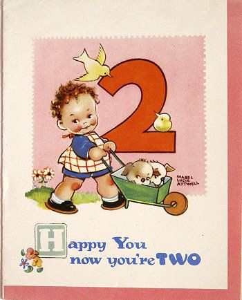 1000 Ideas About Old Birthday Cards On Pinterest 70